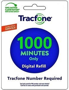 tracfone refill airtime minutes data plans
