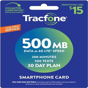 smartphone airtime minutes refill card